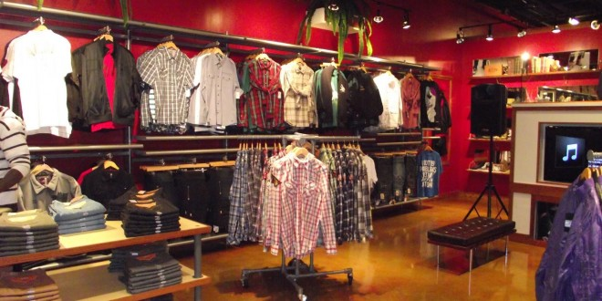 urban clothing stores