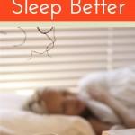 9 ways to Naturally sleep well