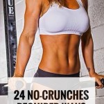 24 WAYS TO FLATTEN YOUR BELLY (NO SITUPS OR CRUNCHES REQUIRED)