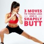 3 Move Workout for Toned Butt & Legs