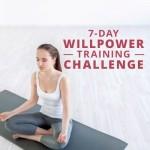 7-Day Willpower Training Challenge