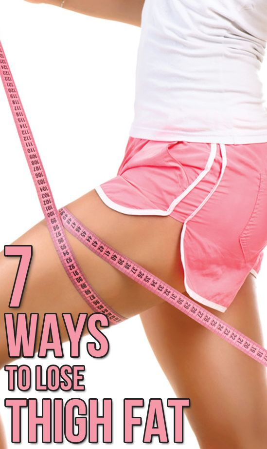 How get rid of inner thigh fat fast