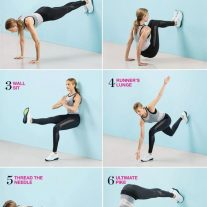 6 Moves That'll Work Your Abs, Butt, and Thighs in the Best Way