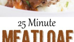 Skillet Meatloaf with Pan Gravy