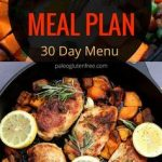 30 days of Whole 30 meals A complete Whole 30 paleo menu plan