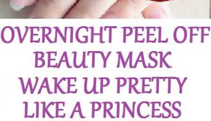 Overnight Peel Off Beauty Mask, Wake Up Pretty Like A Princess