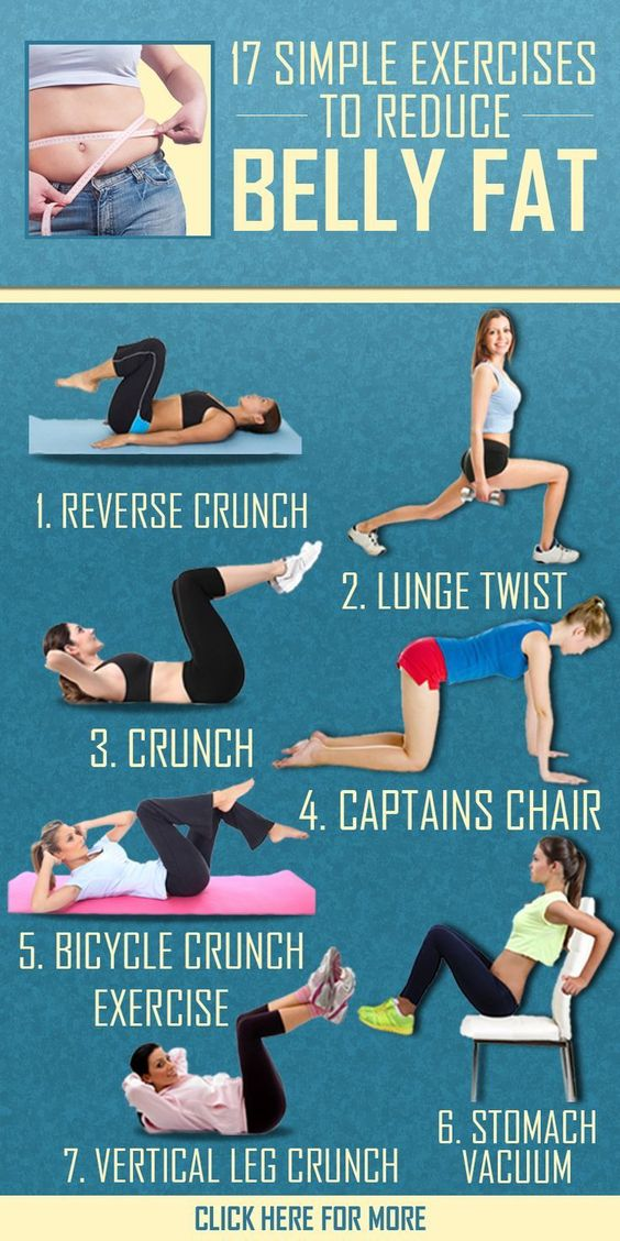 16 Simple Exercises To Reduce Belly Fat 16 Simple Exercises To Reduce Belly Fat