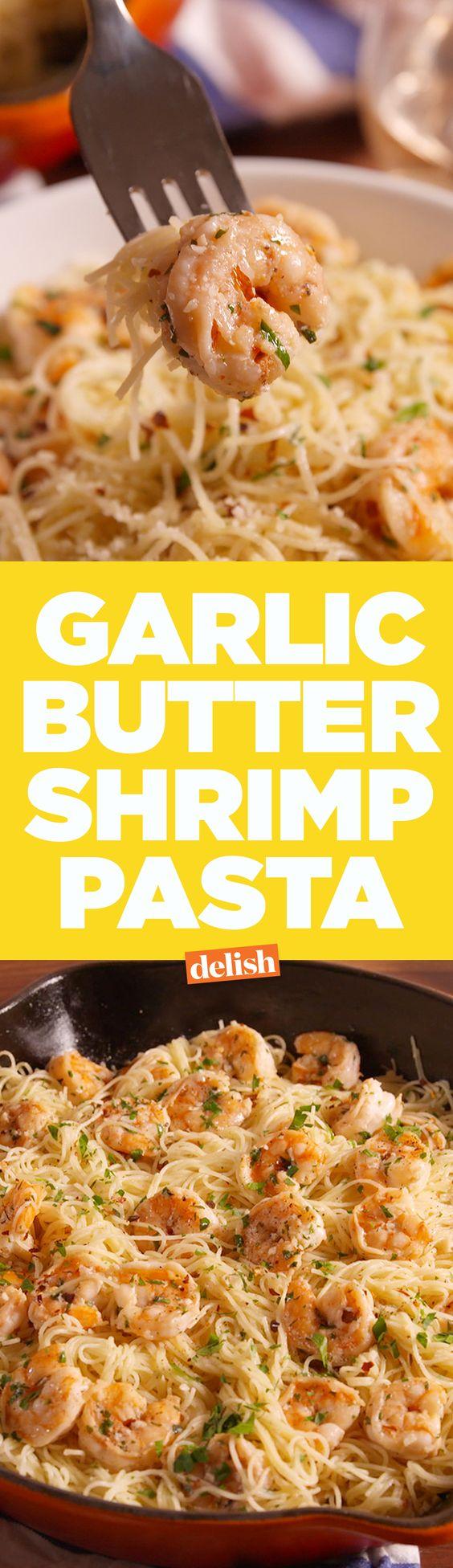 Garlic Butter Shrimp Pasta Garlic Butter Shrimp Pasta