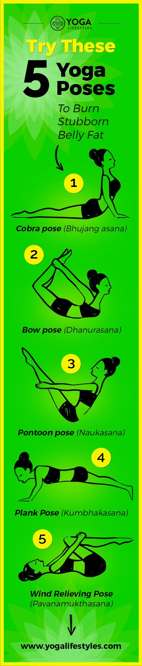 Try These 5 Yoga Poses To Burn Stubborn Belly Fat Try These 5 Yoga Poses To Burn Stubborn Belly Fat