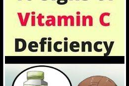 "10 Signs Of Vitamin ""C"" Deficiency!!!"