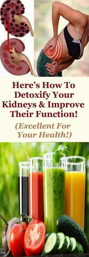 12 Here's How to Detoxify Your Kidneys & Improve Their Function! (Excellent for Your Health!)