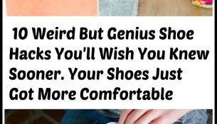10 Weird But Genius Shoe Hacks You'll Wish You Knew Sooner. Your Shoes Just Got More Comfortable