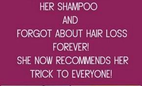 She Added This into Her SHAMPOO and Forgot About Hair Loss FOREVER!