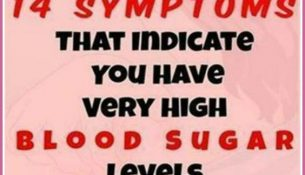 14 WARNING SIGNS THAT YOU HAVE SUGAR IN BLOOD!