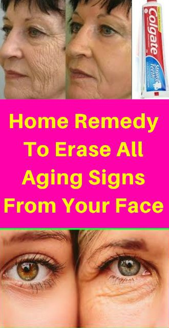 18 2 HOME REMEDY TO ERASE ALL AGING SIGNS FROM YOUR FACE