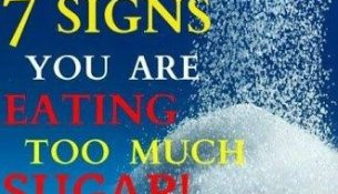 7 SIGNS YOU ARE EATING TOO MUCH SUGAR & YOU MUST STOP THE INTAKE IMMEDIATELY
