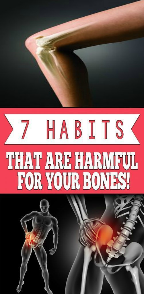 14 9 7 Habits That Are Harmful For Your Bones!