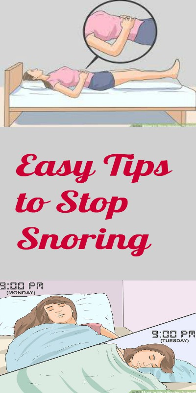 16 Easy Tips to Stop Snoring