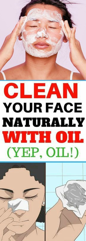 14 Clean Your Face Naturally With Oil (yep, Oil!)