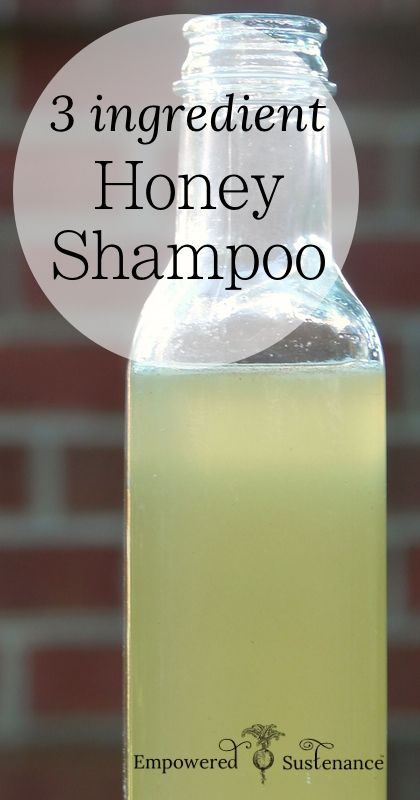 3 ingredient Honey Shampoo 3 ingredient Honey Shampoo