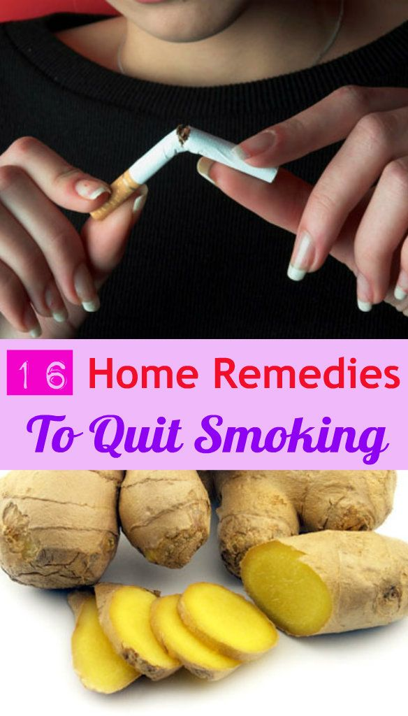 16 Home Remedies to Quit Smoking 16 Home Remedies to Quit Smoking