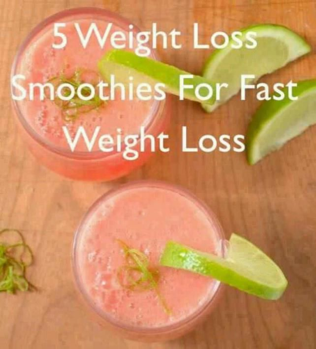5 Weight Loss Smoothies for fast weight loss 5 Weight Loss Smoothies for fast weight loss