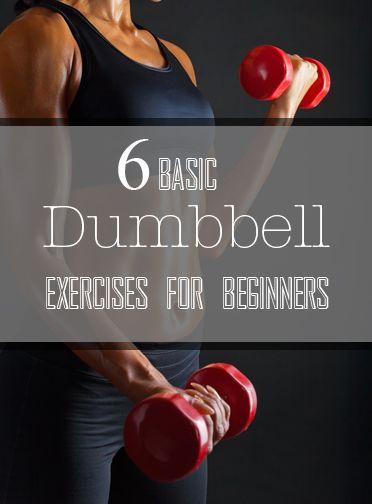 6 Basic Dumbbell Exercises for Weight Training Beginners 6 Basic Dumbbell Exercises for Weight Training Beginners