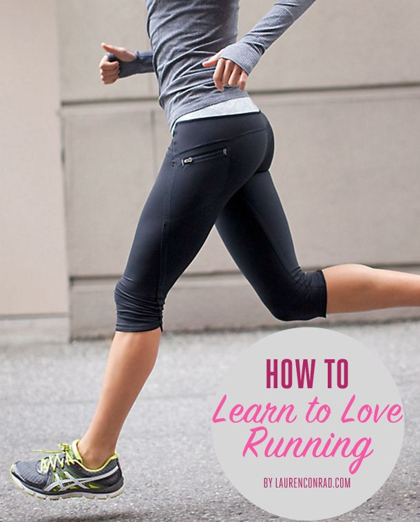 Fit Tip How to Learn to Love Running Fit Tip How to Learn to Love Running