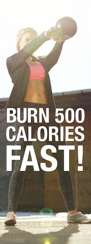 Burn those daily calories fast with this workout Burn those daily calories fast with this workout!