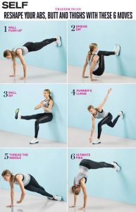 6 Moves Thatll Work Your Abs Butt and Thighs in the Best Way 193x300 6 Moves Thatll Work Your Abs, Butt, and Thighs in the Best Way
