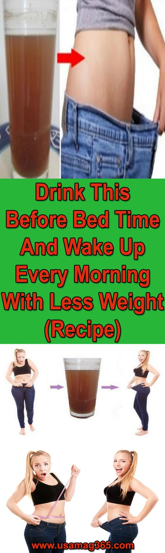 Drink This Before Bedtime And Wake Up Every Morning With Less Weight Drink This Before Bedtime And Wake Up Every Morning With Less Weight
