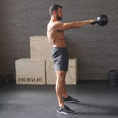 The Fat Frying Kettlebell Workout from Hell The Fat Frying Kettlebell Workout from Hell