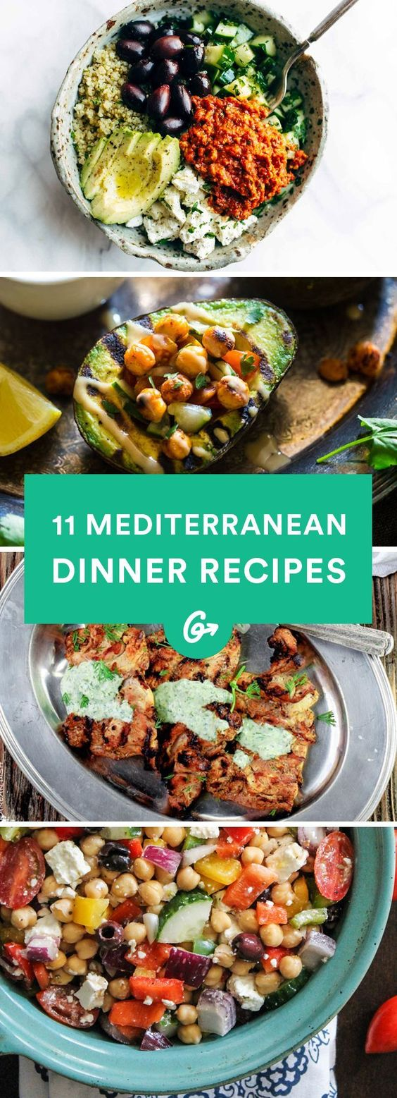 11 Mediterranean Inspired Dinners to Spice Up Your Weeknight Routine 11 Mediterranean Inspired Dinners to Spice Up Your Weeknight Routine