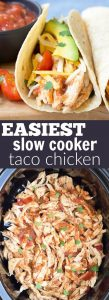 3 Ingredient Slow Cooker Taco Chicken 109x300 3 Ingredient Slow Cooker Taco Chicken