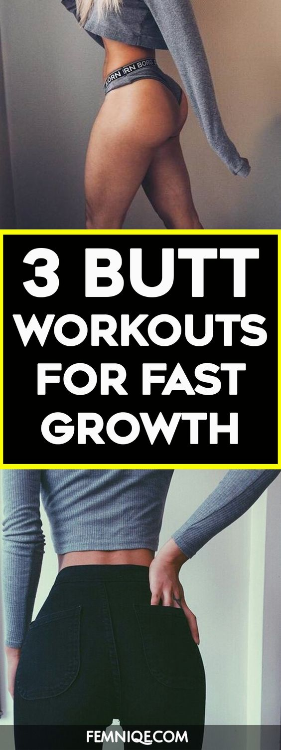 3 Super Butt Workouts For Bigger & Rounder Glutes