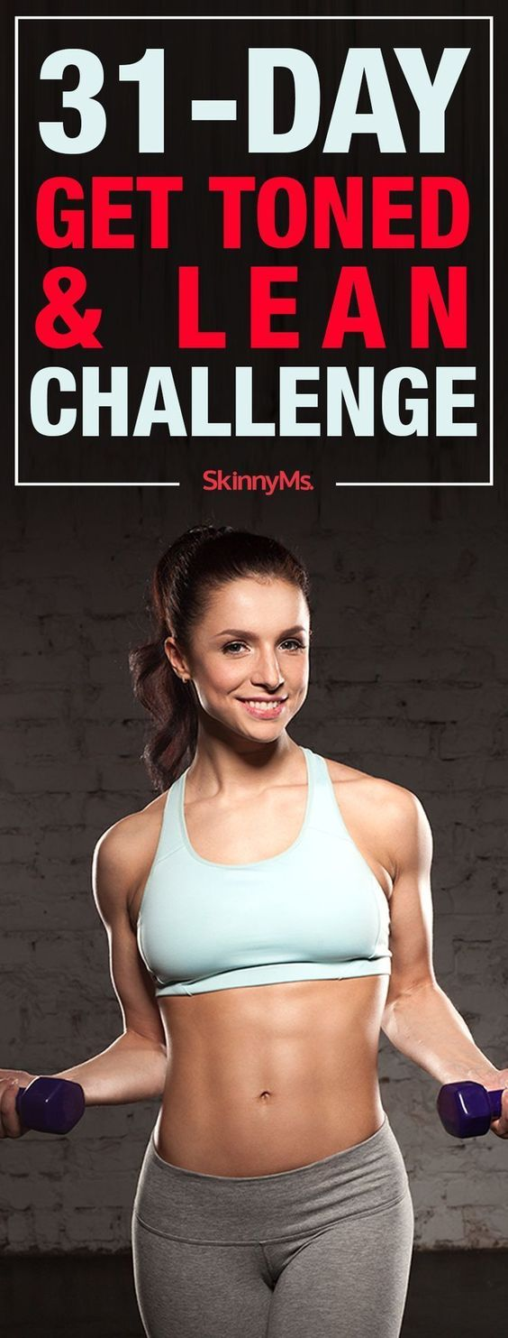 31-Day Get Toned & Lean Challenge