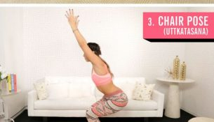 6 Yoga-Inspired Poses That Undo Overeating