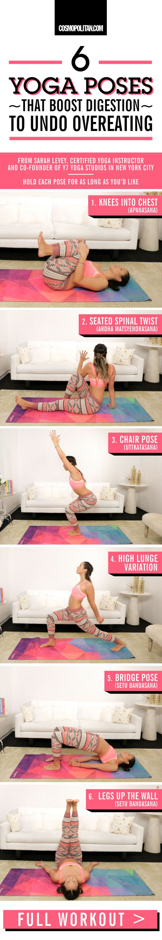 6 Yoga Inspired Poses That Undo Overeating 6 Yoga Inspired Poses That Undo Overeating