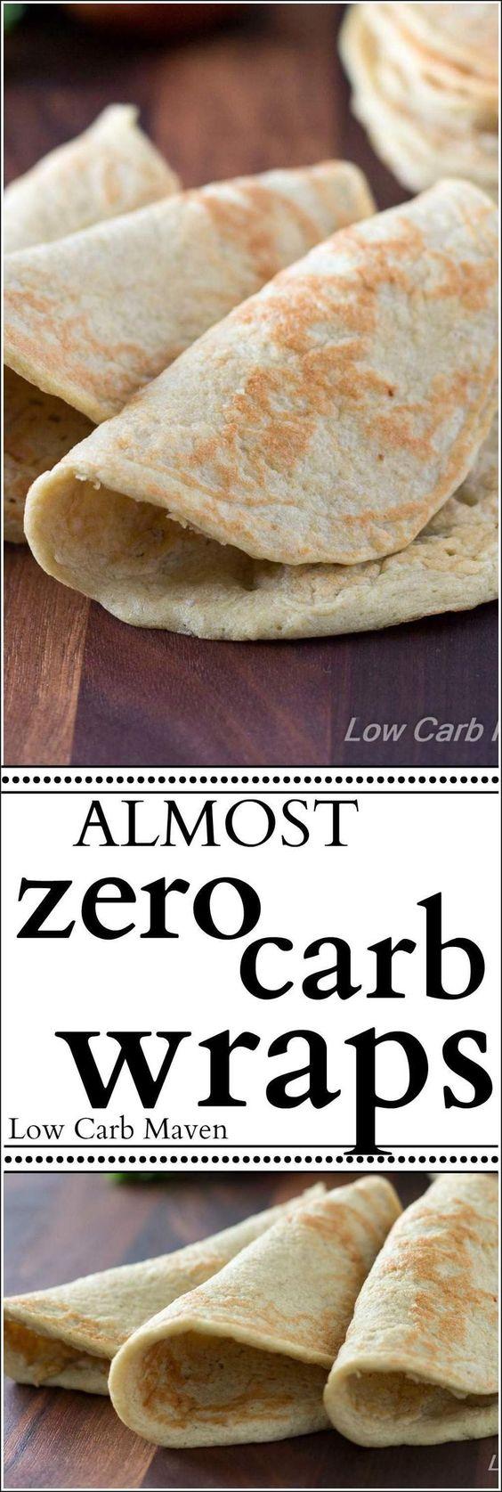 Almost Zero Carb Wraps Almost Zero Carb Wraps