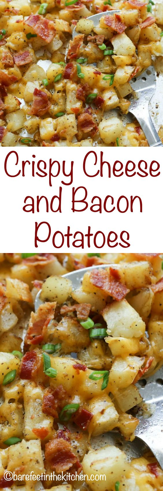Crispy Cheese and Bacon Potatoes Crispy Cheese and Bacon Potatoes