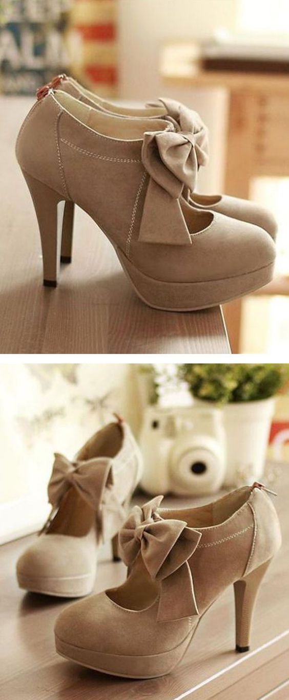 Cute Bow Knot High Heels Fashion Sh Cute Bow Knot High Heels Fashion Sh