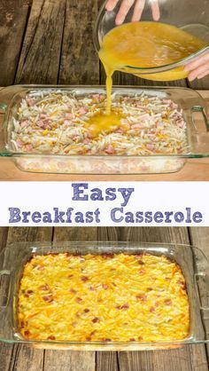 Easy Breakfast Casserole Easy Breakfast Casserole