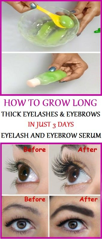 HOW TO GROW LONG, THICK EYELASHES & EYEBROWS IN JUST 3 DAYS
