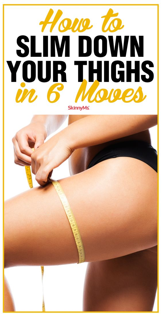 How To Slim Down Your Thighs In 6 Moves How To Slim Down Your Thighs In 6 Moves