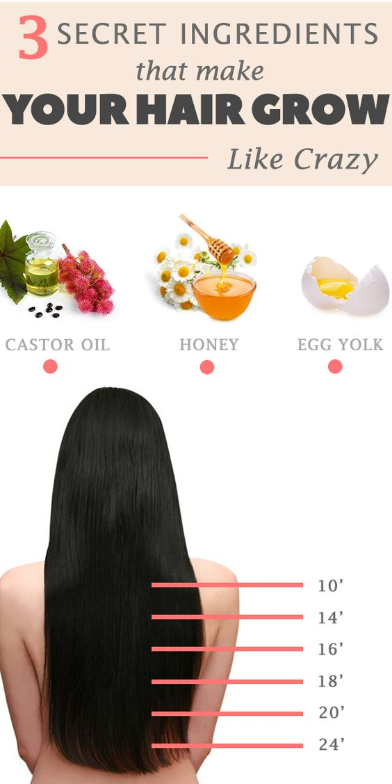 How to make your hair grow with only 3 ingredients How to make your hair grow with only 3 ingredients