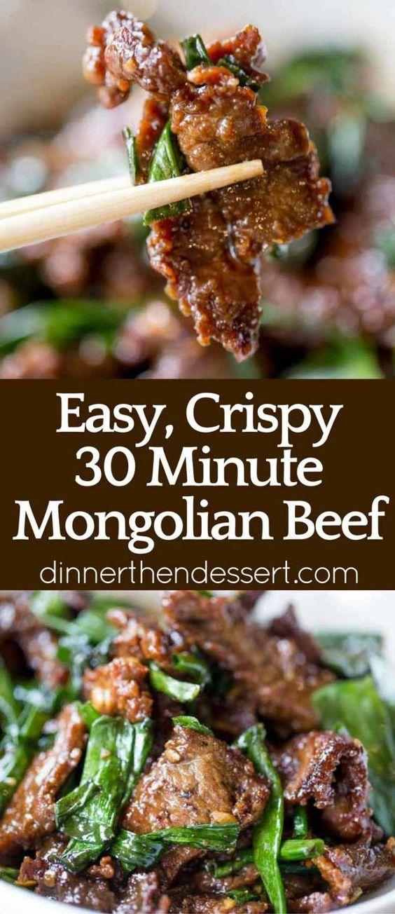 Mongolian Beef Mongolian Beef