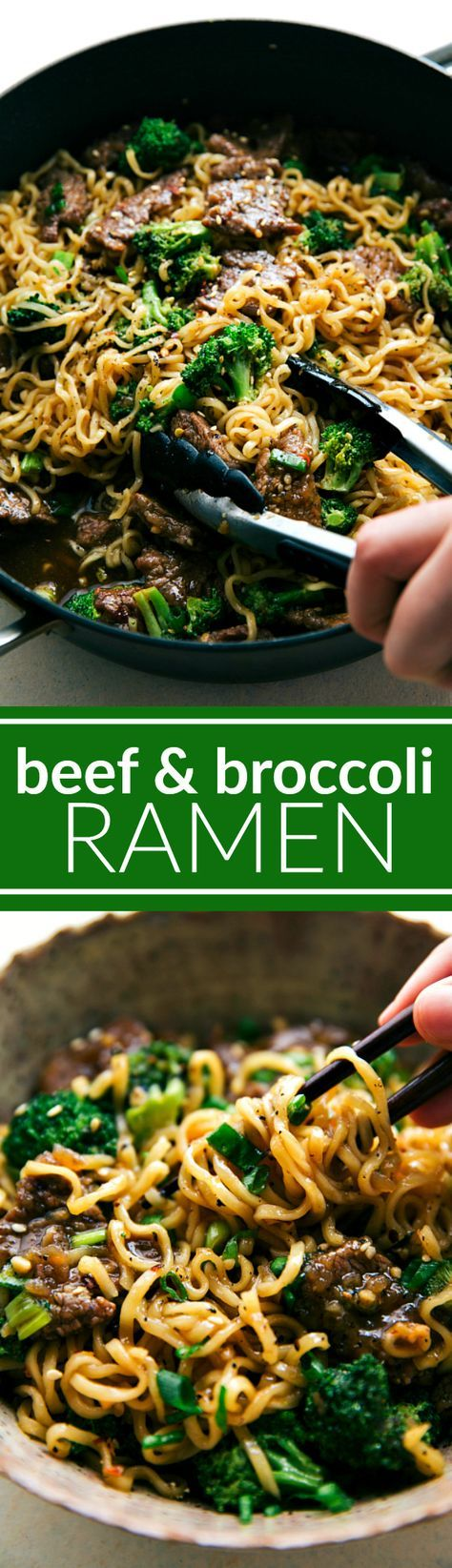 Skillet Beef and Broccoli Ramen Skillet Beef and Broccoli Ramen