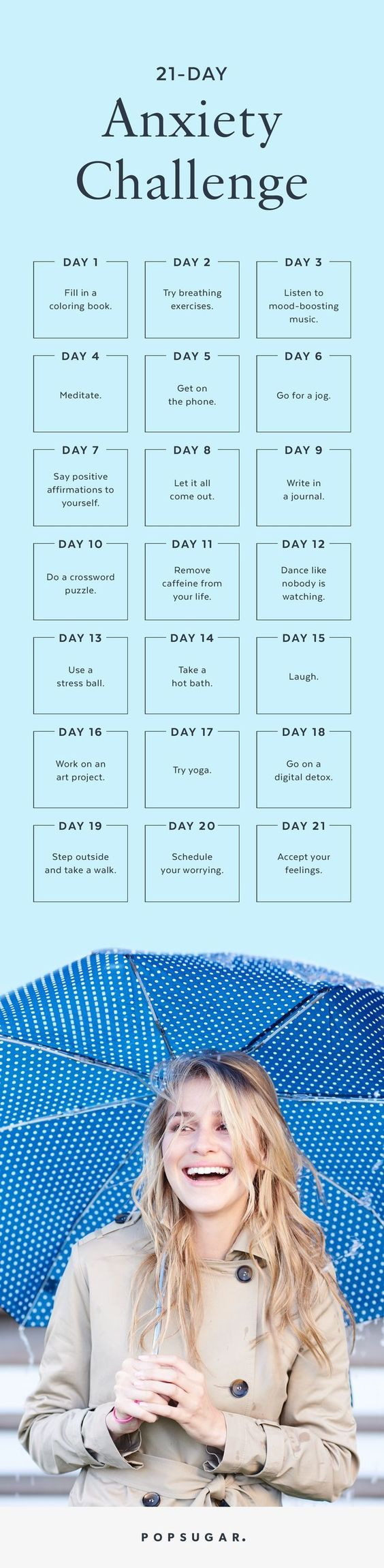 The 21 Day Anxiety Challenge Take Control of Your Nerves The 21 Day Anxiety Challenge Take Control of Your Nerves