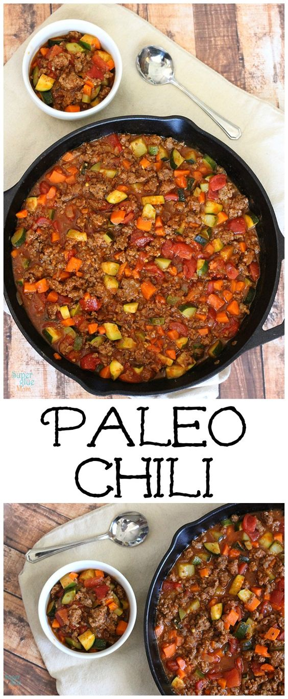 This paleo chili recipe is even better than the traditional kind. Its hearty filling and full of flavor. This paleo chili recipe is even better than the traditional kind. Its hearty, filling and full of flavor.