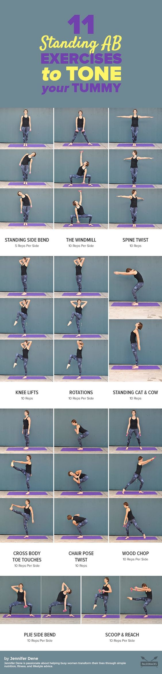 11 Standing Ab Exercises To Flatten Your Tummy 11 Standing Ab Exercises To Flatten Your Tummy